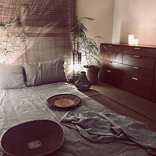 ベッド周り/間接照明/畳のある暮らし/和室インテリア/和室...などのインテリア実例 - 2018-08-20 21:54:40