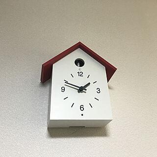 女性一人暮らし1R、掛時計に関するyanazさんの実例写真