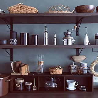 キッチン/コーヒーメジャーハウス/コーヒーメジャースプーン/カッティングボード/小沢賢一...などのインテリア実例 - 2017-08-27 11:05:30