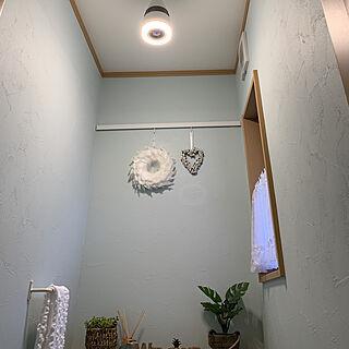 女性家族暮らし3LDK、照明器具に関するkiyomiさんの実例写真