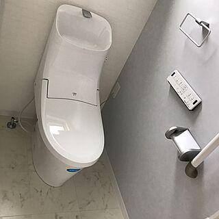 バス/トイレ/フチレス/リクシルのトイレ/2Fのトイレ/SURFER'S HOUSE...などのインテリア実例 - 2017-03-08 18:54:03