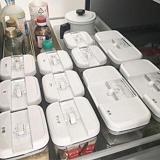 キッチン/統一感/収納見直し/キッチン収納/調味料収納...などのインテリア実例 - 2018-05-08 20:53:36