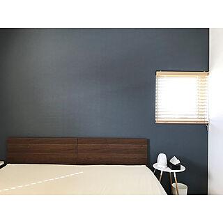 ベッド周り/昼寝/ブラインド 木目調/シングルベッド2台/フランスベッド...などのインテリア実例 - 2018-08-07 15:36:17