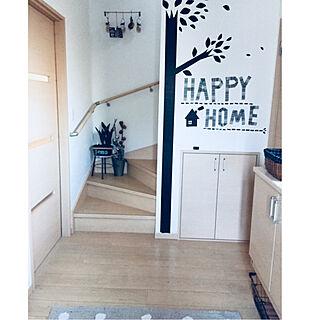 女性家族暮らし4LDK、アイアン階段に関する.hisa.さんの実例写真