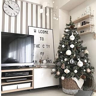 クリスマス/オマジオ/Cooee Design/モビール/アクタス...などのインテリア実例 - 2017-11-11 18:38:40