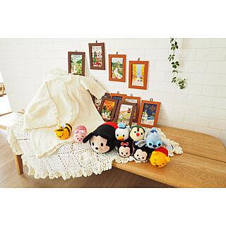 女性家族暮らし3LDK、ハマナカ毛糸に関するa_tankoさんの実例写真