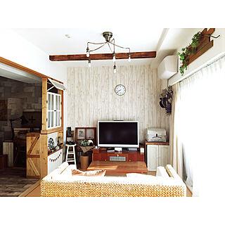 木目調壁紙の人気の写真(RoomNo.3194207)