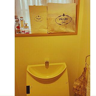 PRADA/ショップバッグ/再利用/バス/トイレのインテリア実例 - 2021-05-08 08:08:38