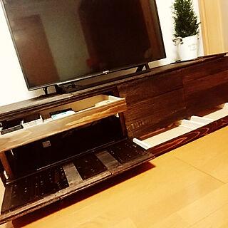 、マスターウォールのテレビボードに関するnaokistyleさんの実例写真