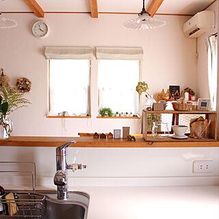 女性家族暮らし、ガラスシェードに関するsakusoraさんの実例写真