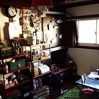 リビング/セリア/リメイク/手作り/実家から連れて帰ったモノ...などのインテリア実例 - 2014-03-05 16:25:17