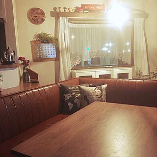 家族暮らし3LDK、ダイニングセットに関するmaayaroomさんの実例写真