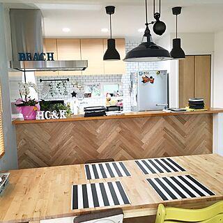 キッチン/西海岸/西海岸風/IKEA/ニトリ...などのインテリア実例 - 2016-10-11 10:55:12