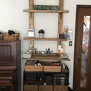 女性44歳の家族暮らし、ディアオール棚に関するrukoruko0124さんの実例写真