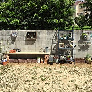 女性家族暮らし、お庭改造計画中に関するcraneさんの実例写真