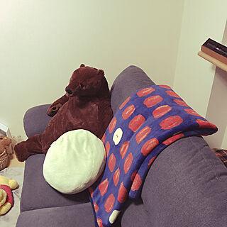 リビング/ソファーまわり/北欧/一人暮らし/IKEA...などのインテリア実例 - 2019-02-19 16:34:58