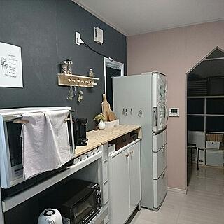 キッチン/DIY/北欧インテリア/壁紙DIY/飾り棚...などのインテリア実例 - 2020-01-28 21:59:14