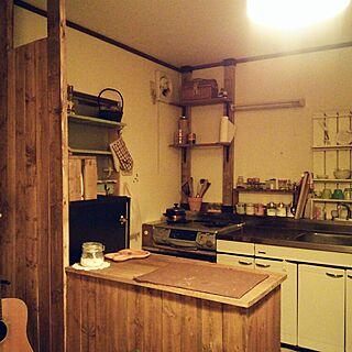 キッチン/セリア/賃貸/100均/DIY...などのインテリア実例 - 2015-03-18 10:28:02