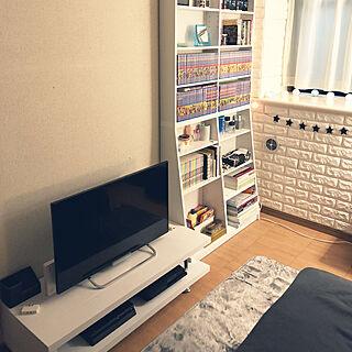 女性家族暮らし3LDK、次男部屋に関するkanaさんの実例写真