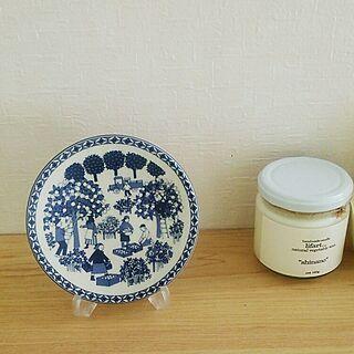 女性家族暮らし、絵皿に関するyoshiさんの実例写真