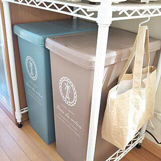 女性家族暮らし3LDK、ゴミ袋に関するmaicleanlifeさんの実例写真