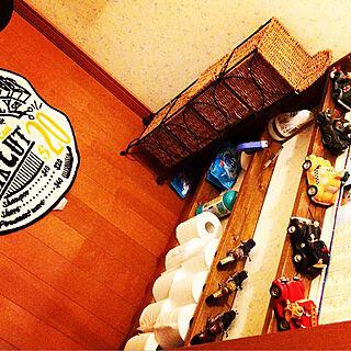 男性45歳の家族暮らし、アメリカ雑貨に関するAkiraさんの実例写真