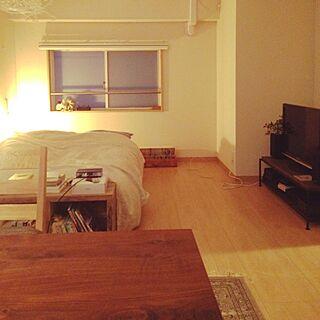男性一人暮らし1R、1Rマンションのお部屋に関するharu0829さんの実例写真