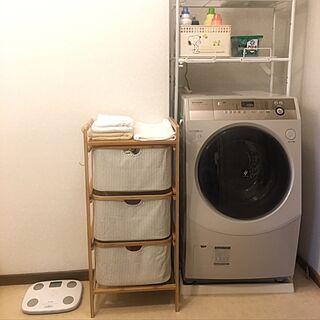洗濯機ラックの人気の写真(RoomNo.2733918)