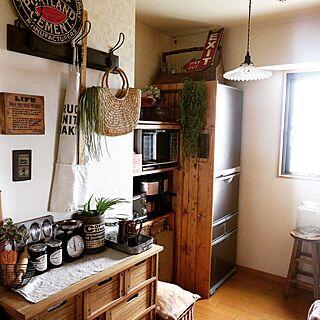 冷蔵庫板壁の人気の写真(RoomNo.1700062)