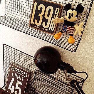 ベッド周り/焼き網リメイク/IKEA照明/kuunaちゃん❤️/yupinokoちゃん❤️...などのインテリア実例 - 2015-11-16 11:20:39