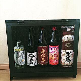 女性40歳の家族暮らし3LDK、焼酎に関するyorkiemamaさんの実例写真