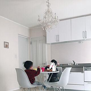 キッチン/ぺんき塗り/床もリメイクシート/DIY/和室...などのインテリア実例 - 2018-02-20 15:46:02