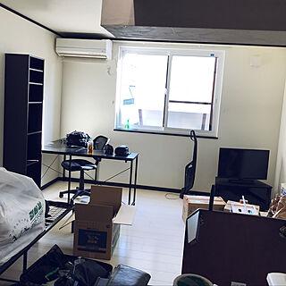 男性23歳の一人暮らし1LDK、引越し中に関するshun_satoさんの実例写真