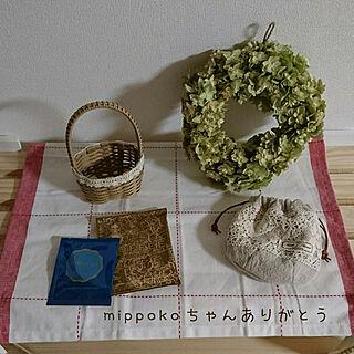 女性36歳の家族暮らし4LDK、mippokoちゃんから♡に関するtomoさんの実例写真