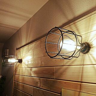 壁/天井/DIY/LED/板壁/テレビボード...などのインテリア実例 - 2018-02-06 08:04:13