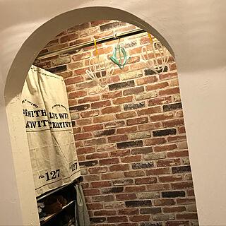 アーチ壁/アーチ垂れ壁/mamanの家/ナチュラル/無垢材の床/漆喰の壁...などのインテリア実例 - 2018-02-17 22:24:58