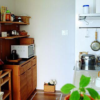 キッチン/キッチン雑貨/unicoカップボード/ブログやってます♡/無水鍋のインテリア実例 - 2015-08-24 21:16:45