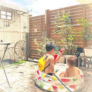 女性家族暮らし3LDK、車輪に関するSorieさんの実例写真
