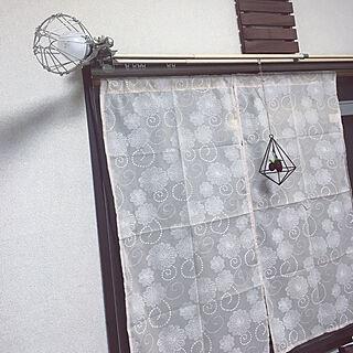 女性家族暮らし3LDK、のれんに関するshigimiさんの実例写真