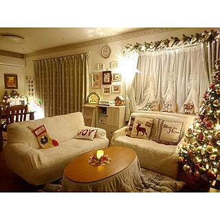 部屋全体/クリスマス/クリスマスツリー/メルヘンカントリー/物語/ライトハウス...などのインテリア実例 - 2018-12-22 23:46:42