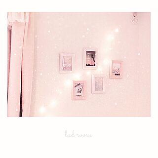 壁/天井/nico and.../ニコアンド/照明/キラキラ...などのインテリア実例 - 2017-02-11 05:53:01