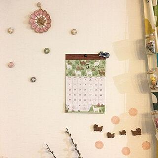 女性40歳の家族暮らし4LDK、ボタンに関するayayayayaさんの実例写真
