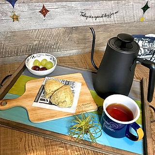 女性38歳の家族暮らし4LDK、カフェごはんに関するrumiさんの実例写真
