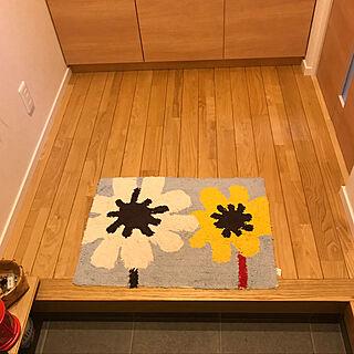 女性家族暮らし3LDK、栗の床に関するkeito814さんの実例写真