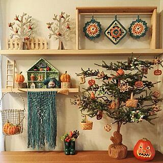 家族暮らし、棒針編みに関するmasumixさんの実例写真