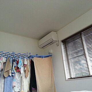 、部屋干しに関するさんの実例写真