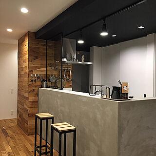 キッチン/フリーダムアーキテクツデザイン/吹き抜けのある家/いつもいいね!ありがとうございます♪/中庭のある家...などのインテリア実例 - 2017-12-06 23:58:16