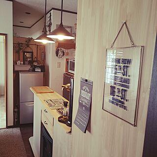 キッチンカウンターDIYの人気の写真(RoomNo.2340901)