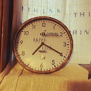 リビング/マスキングテープリメイク/時計リメイク/100均/セリア...などのインテリア実例 - 2016-11-22 07:27:41