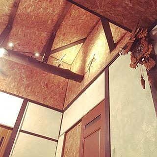 壁/天井/DIY/ハンドメイド/手作り/間接照明ののインテリア実例 - 2015-01-26 00:50:55